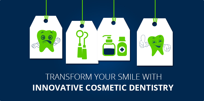 cosmetic dentistry to transform smile